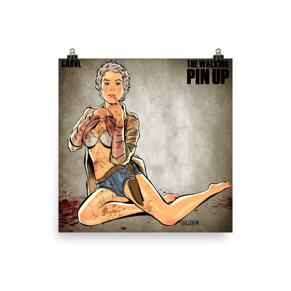 Carol, The Walking Dead Pin-Up, Poster