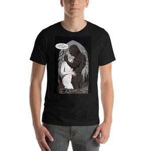 Monster From The Black Lagoon, Erotic Gothic, Short-Sleeve Unisex T-Shirt