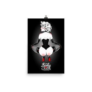 Ace of hearts, Kinky Cards, Poster