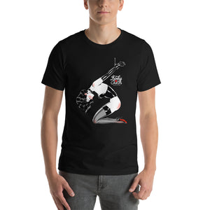 5 of spades, Kinky Cards, Short-Sleeve Unisex T-Shirt