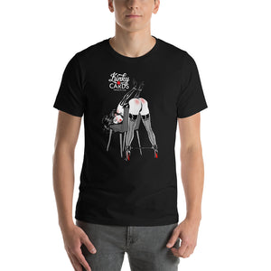 10 of spades, Kinky Cards, Short-Sleeve Unisex T-Shirt