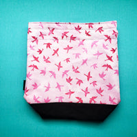 Swallows Bird Project Bag, small project bag