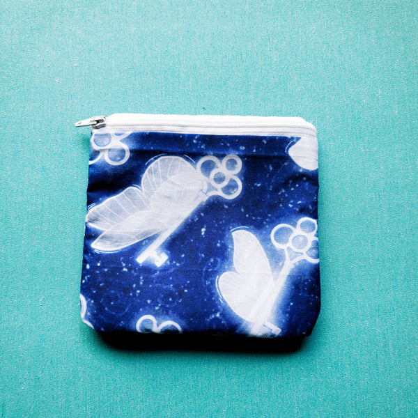 Flying Keys, zipper pouch