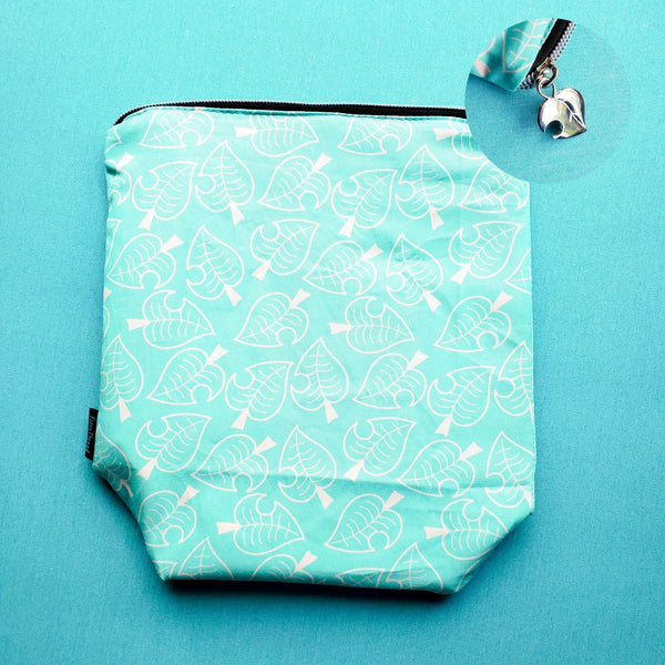 Nook shirt, leaf, small zipper bag
