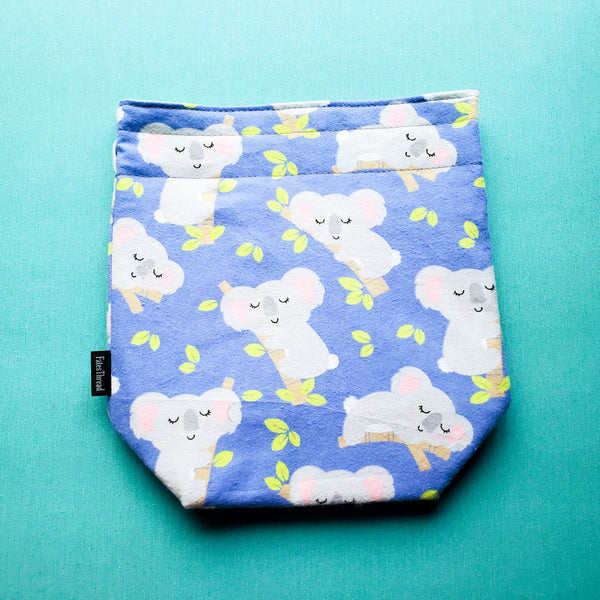 Koala Bear bag, small project bag