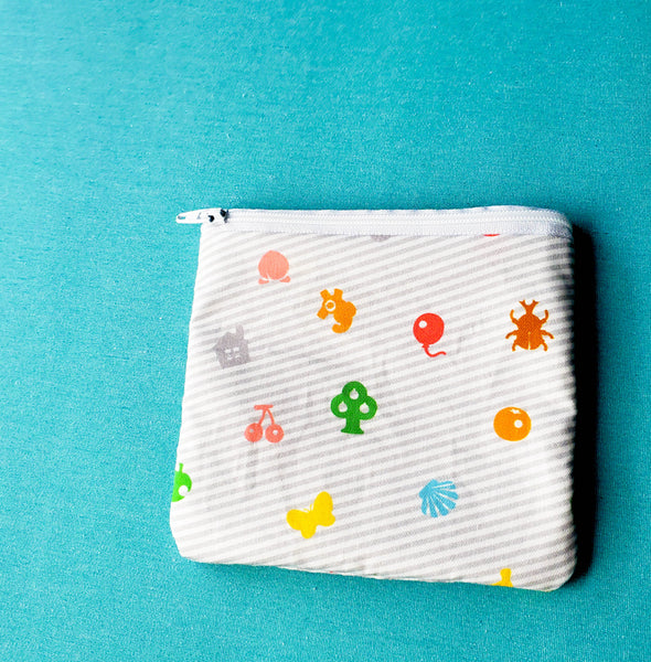 Amiibo, Crossing, Knitting Notion Pouch