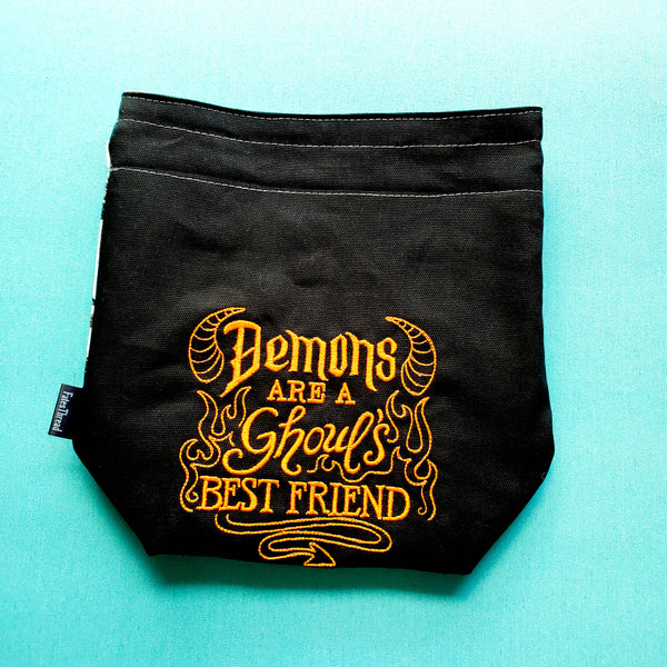 Demons are a ghouls best friend, small project bag