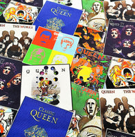 Queen Music Albums, medium project bag
