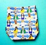 A good Place television, small project bag