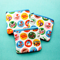 Movie Theater Candy, zipper notion pouch