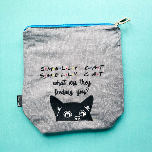 Smelly Cat, Friends Television, small zipper bag