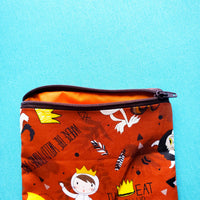 Wild Things, zipper pouch