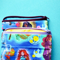 Empire Princess and friends, zipper pouch