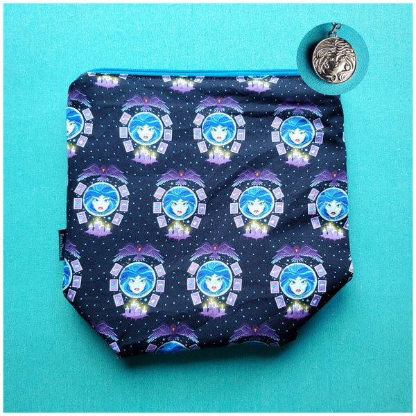 Madame Leota, small zipper bag