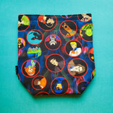 ScoobyNatural Tossed, Small Project Bag