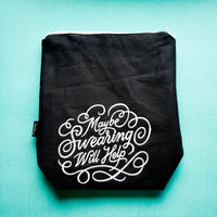 Maybe Swearing will help, small zipper bag
