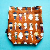 Friendly Ghost, small project bag