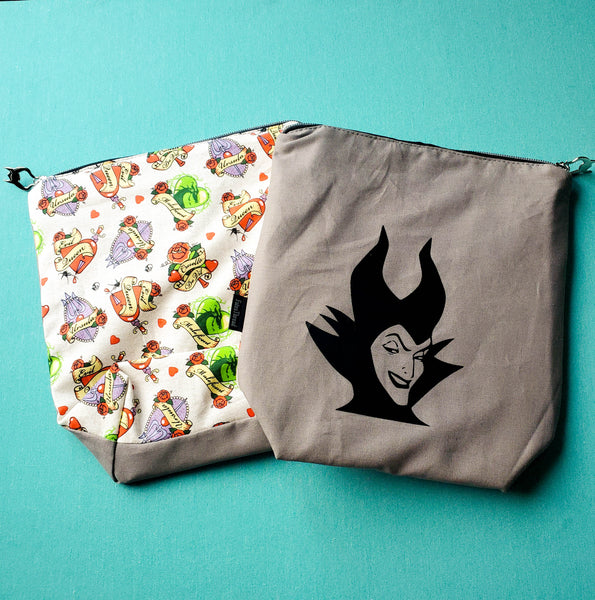 Mistress of Evil, small zipper bag