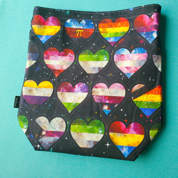 Pride Flags, medium project bag