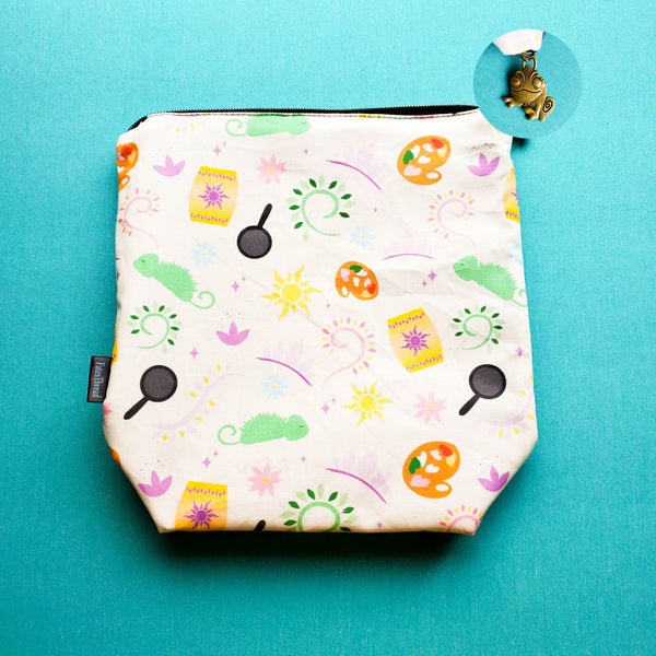 Tower Princess, small zipper bag