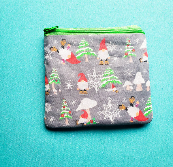 Christmas Gnome, Knitting Notion Pouch