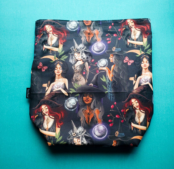 Coven Witches, medium project bag