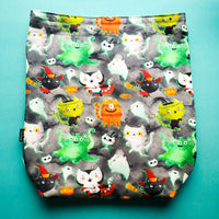Monster Kitty Cats, Large Project Bag