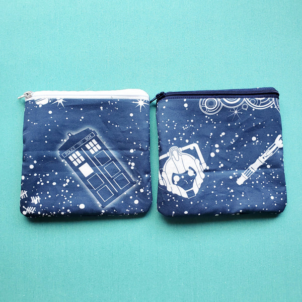 Time and Space, zipper pouch