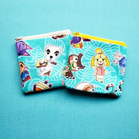 Leafy Crossing, zipper pouch