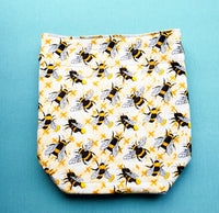 XO Bee Project Bag, small project Bag