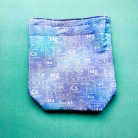 Table of Elements, small project bag