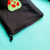 Poison Apple, small zipper bag