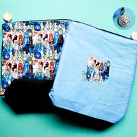Haunted Mansion, small zipper bag