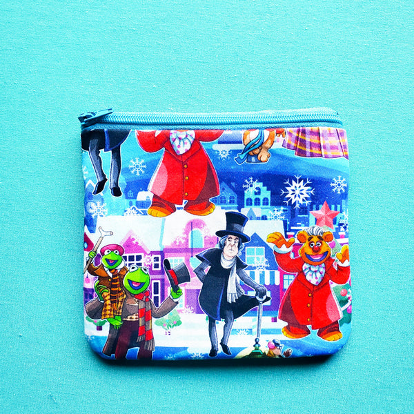 Christmas Carol Puppets, Knitting Notion Pouch