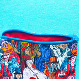 Sketched Puppet Christmas Carol, Knitting Notion Pouch