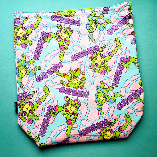 TMNT Turtle, large project bag