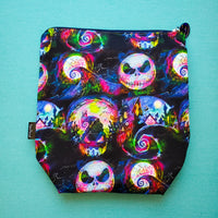 Neon Halloween, NBC, small zipper bag