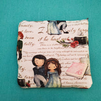 Pride and Prejudice, zipper pouch