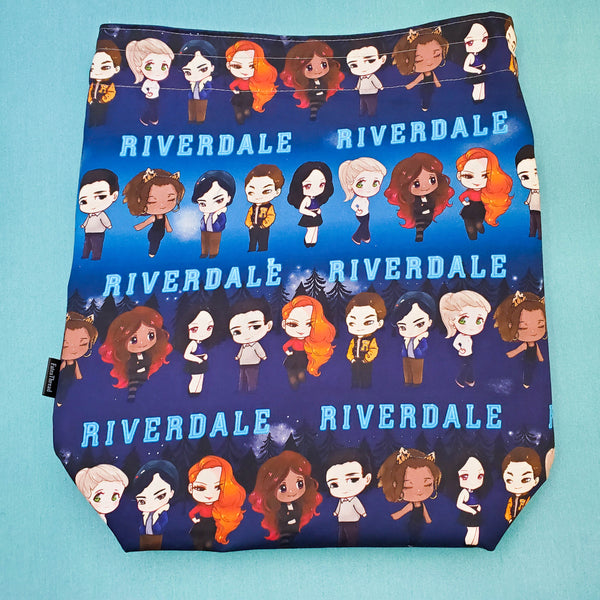 Riverdale Bag, large project bag