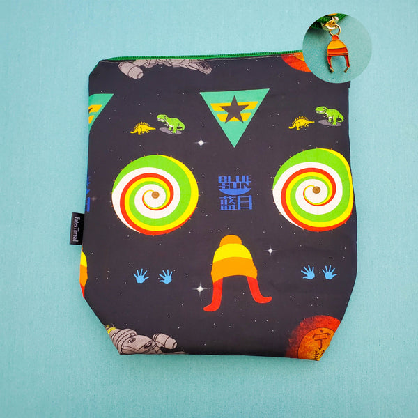 Firefly symbols Project bag, small zipper bag
