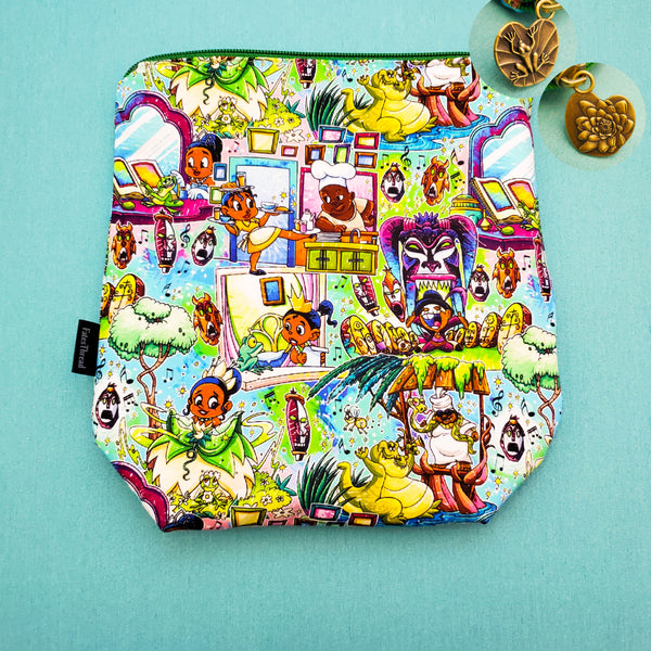 New Orleans Princess, small zipper bag