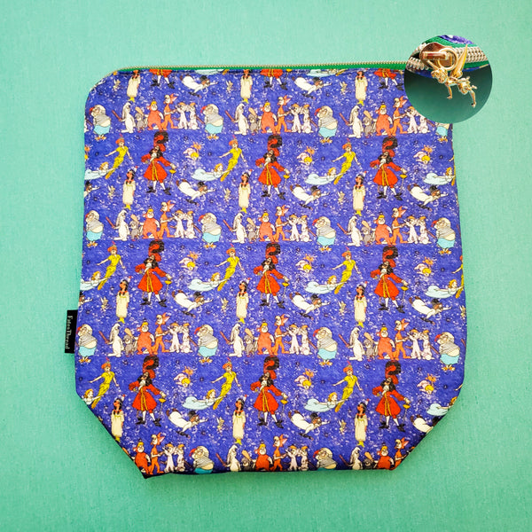 Neverland Fairy, small zipper bag,