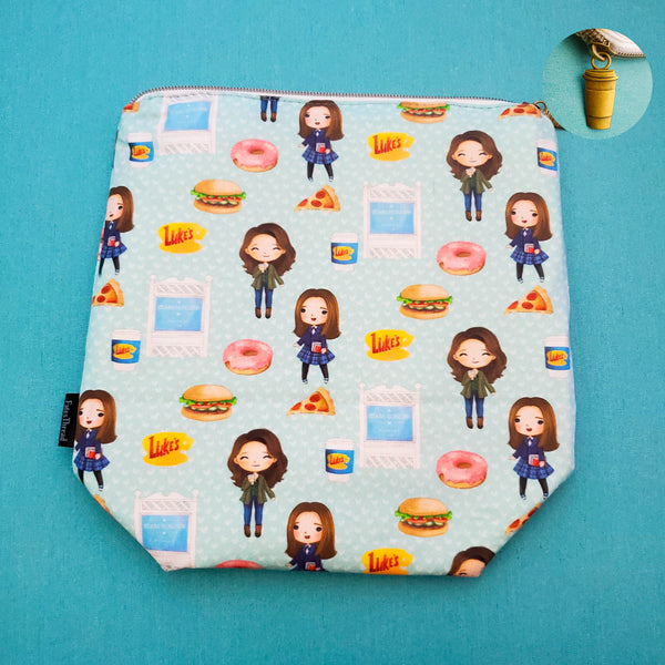 Coffee Girls, small zipper bag