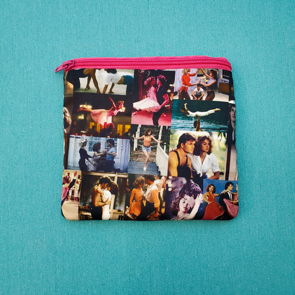 Dancing Collage, Knitting Notion Pouch