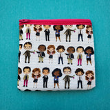Office Notebook, Knitting Notion Pouch