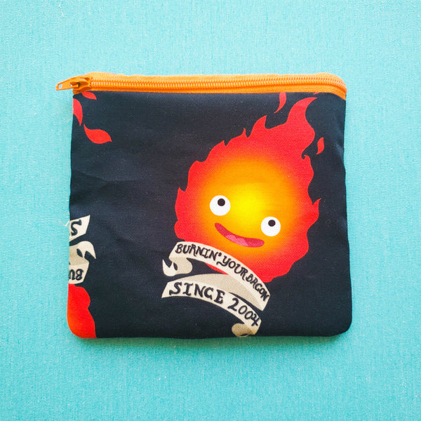 Burning your Bacon, studio anime, fire demon, zipper pouch