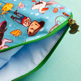 Mermaid Princess, Small zipper Bag