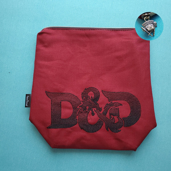 Dragon Game, tabletop, Small zipper Bag
