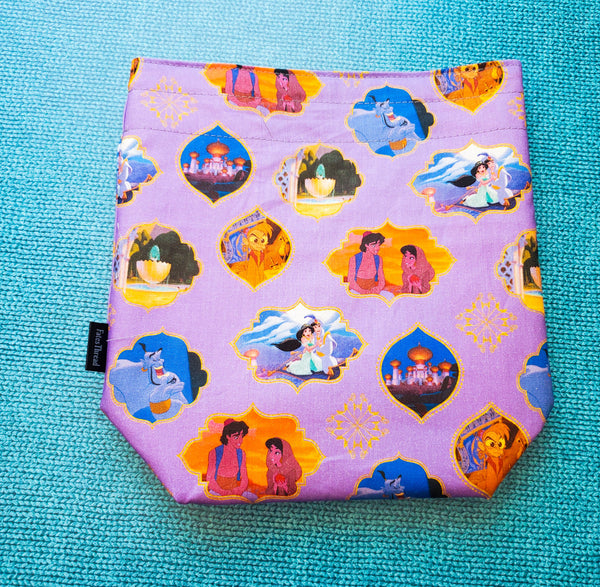 Genie of Agrabah, small project bag