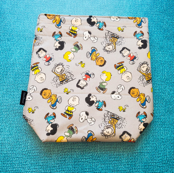 The Peanuts, small project bag